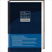 Cover-Bild zu Bibelausgaben-Elberfelder: Elberfelder Studienbibel mit Sprachschlüssel - Kunstleder Blau
