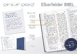 Cover-Bild zu Bibelausgaben-Elberfelder: Elberfelder Bibel - Taschenausgabe - Motiv Berge (mit Gummiband)