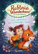Cover-Bild zu Rubinia Wunderherz, die mutige Waldelfe - Das Geheimnis der schwarzen Feder von Angermayer, Karen Christine