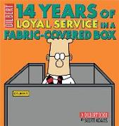 Cover-Bild zu 14 Years of Loyal Service in a Fabric-Covered Box von Adams, Scott