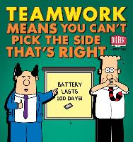 Cover-Bild zu Teamwork Means You Can't Pick the Side that's Right (eBook) von Adams, Scott