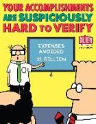 Cover-Bild zu Your Accomplishments Are Suspiciously Hard to Verify (eBook) von Adams, Scott