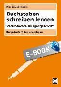 Cover-Bild zu Jebautzke, Kirstin: Buchstaben schreiben lernen - VA (eBook)