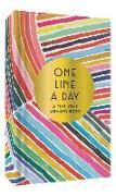 Cover-Bild zu Rainbow One Line a Day