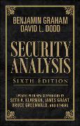 Cover-Bild zu Security Analysis: Sixth Edition, Foreword by Warren Buffett (Limited Leatherbound Edition) von Graham, Benjamin
