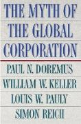 Cover-Bild zu The Myth of the Global Corporation (eBook) von Doremus, Paul