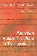 Cover-Bild zu American Academic Culture in Transformation (eBook) von Bender, Thomas (Hrsg.)