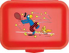 Cover-Bild zu Globi Lunchbox Tennis rot