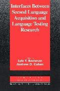 Cover-Bild zu Interfaces Between Second Language Acquisition and Language Testing Research von Bachman, Lyle (Hrsg.)
