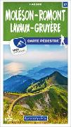 Cover-Bild zu Moléson - Romont 27 Wanderkarte 1:40 000 matt laminiert. 1:40'000 von Hallwag Kümmerly+Frey AG (Hrsg.)