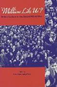 Cover-Bild zu Hayes, Nick: Millions Like Us?: British Culture in the Second World War