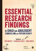 Cover-Bild zu Midgley, Nick (Hrsg.): Essential Research Findings in Child and Adolescent Counselling and Psychotherapy