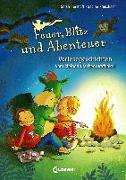 Cover-Bild zu Feuer, Blitz und Abenteuer von Herzhoff, Sarah