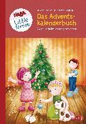 Cover-Bild zu HABA Little Friends - Das große Adventskalenderbuch (eBook) von Hochmuth, Teresa