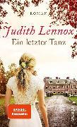 Cover-Bild zu Ein letzter Tanz (eBook) von Lennox, Judith