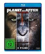 Cover-Bild zu Rupert Wyatt, Matt Reeves (Reg.): Planet der Affen - Trilogie