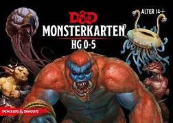Cover-Bild zu Mearls, Mike: D&D: Monster Deck 0-5 (Deutsch)