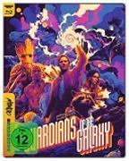 Cover-Bild zu Guardians of the Galaxy - 4K UHD Mondo Steelbook Edition von Gunn, James (Reg.)