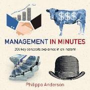 Cover-Bild zu Anderson, Philippa: Management in Minutes (eBook)