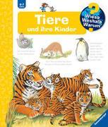 Cover-Bild zu Wieso? Weshalb? Warum? Tiere und ihre Kinder (Band 33) von Rübel, Doris