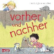 Cover-Bild zu vorher und nachher von Rübel, Doris