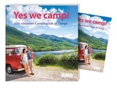 Cover-Bild zu HOLIDAY Reisebuch: Yes we camp! Europa von Siefert, Heidi