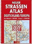 Cover-Bild zu Neuer Straßenatlas Deutschland/Europa 2020/2021