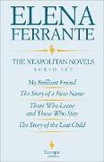 Cover-Bild zu Ferrante, Elena: The Neapolitan Novels Boxed Set (eBook)