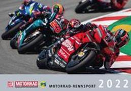 Cover-Bild zu Motorrad-Rennsport-Kalender 2022
