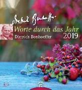 Cover-Bild zu Bonhoeffer, Dietrich: Worte durch das Jahr 2019