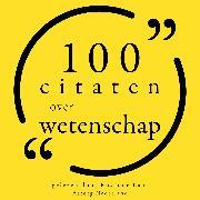 Cover-Bild zu Whitman, Walt: 100 Citaten over Wetenschap (Audio Download)