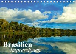 Cover-Bild zu Stanzer, Elisabeth: Brasilien. Impressionen (Tischkalender 2021 DIN A5 quer)