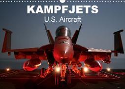 Cover-Bild zu Stanzer, Elisabeth: Kampfjets . U.S. Aircraft (Wandkalender 2021 DIN A3 quer)