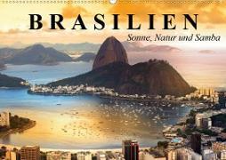 Cover-Bild zu Stanzer, Elisabeth: Brasilien. Sonne, Natur und Samba (Wandkalender 2021 DIN A2 quer)