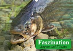 Cover-Bild zu Stanzer, Elisabeth: Faszination Angeln und Fischen (Wandkalender 2021 DIN A3 quer)