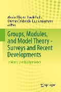 Cover-Bild zu Goldsmith, Brendan (Hrsg.): Groups, Modules, and Model Theory - Surveys and Recent Developments (eBook)