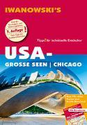 Cover-Bild zu Kruse-Etzbach, Dirk: USA-Große Seen / Chicago - Reiseführer von Iwanowski