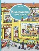 Cover-Bild zu Görtler, Carolin (Illustr.): Kindergarten Wimmelbuch