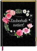 Cover-Bild zu Bastin, Marjolein (Illustr.): Notizbuch mit glitzerndem Stoffeinband - Zauberhaft notiert! (M. Bastin)