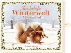 Cover-Bild zu Bastin, Marjolein (Illustr.): Schachtelspiel - Zauberhafte Winterwelt