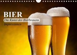 Cover-Bild zu Stanzer, Elisabeth: Bier. Die Kunst des Bierbrauens. Impressionen (Wandkalender 2021 DIN A4 quer)