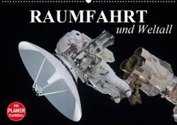 Cover-Bild zu Stanzer, Elisabeth: Raumfahrt und Weltall (Wandkalender 2021 DIN A2 quer)