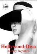 Cover-Bild zu Stanzer, Elisabeth: Hollywood-Diva. Audrey Hepburn (Wandkalender 2021 DIN A2 hoch)