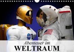 Cover-Bild zu Stanzer, Elisabeth: Abenteuer im Weltraum (Wandkalender 2021 DIN A4 quer)