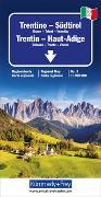 Cover-Bild zu Trentino - Südtirol Regionalkarte Italien Nr. 3. 1:200'000