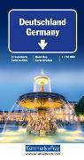 Cover-Bild zu Deutschland Strassenkarte 1:750 000. 1:750'000
