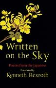 Cover-Bild zu Weinberger, Eliot (Hrsg.): Written on the Sky: Poems from the Japanese (eBook)