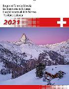 Cover-Bild zu Cal. Berge + Täler der Schweiz 2021 Ft. 31x40