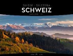 Cover-Bild zu Schweiz - Signature Kalender 2021 von Mägli, Martin