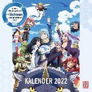 Cover-Bild zu Kawakami, Taiki: Meine Wiedergeburt als Schleim in einer anderen Welt - Wandkalender 2022